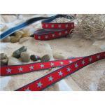 Sterneband, rot-marine