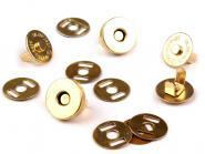 Magnet Verschluss Ø18mm gold
