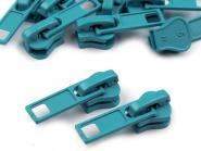 Zipper Profilreißverschluss 5mm türkis
