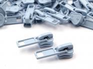 Zipper Profilreißverschluss 5mm hellblau