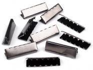 Endstücke aus Metall dark 25 mm