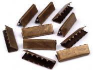 Endstücke aus Metall messing 25 mm