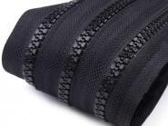 Profilreißverschluss 5mm schwarz