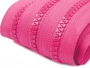 Profilreißverschluss 5mm pink