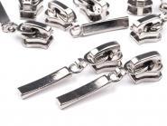 Zipper Profilreißverschluss 5mm silber