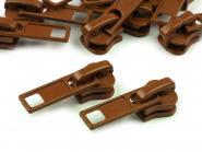 Zipper Profilreißverschluss 5mm braun