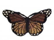 Aufbügler Schmetterling braun