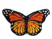 Aufbügler Schmetterling orange