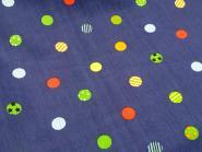 Punkte dunkelblau-bunt