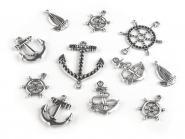 Anhänger Maritimer Mix silber