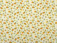 Bumenstoff gelbe Blüten