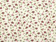 Blumenstoff pinke Blüten
