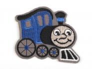 Applikation Lokomotive dunkelblau
