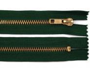 Jeansreißverschluss 10cm dunkelgrün