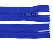 kurzer grober Reißverschluss royalblau 16cm