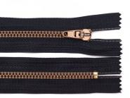 Jeansreißverschluss 10cm schwarz