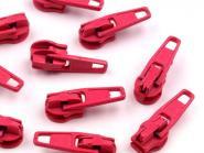 5 Zipper Reißverschluss Spitze pink