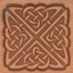 3-D Stempelplatte Ornament Celtic