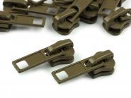 Zipper Profilreißverschluss 5mm khaki