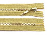 Reißverschluss gold 16cm