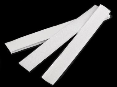 Klettbandmix 1 selbstklebend weiß