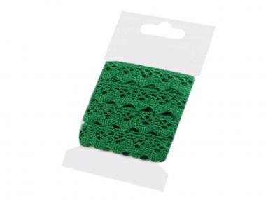3m Klöppelspitze 15mm grün