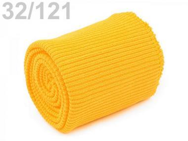 Bündchen umsäumt gelb
