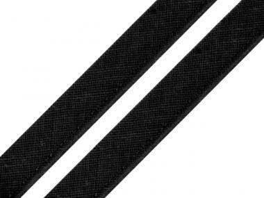 Paspelband schwarz