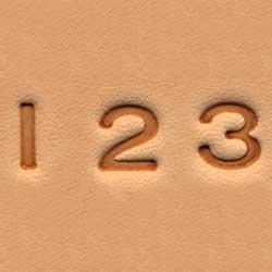 Stempel Set Zahlen