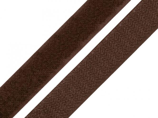 Klettband dunkelbraun