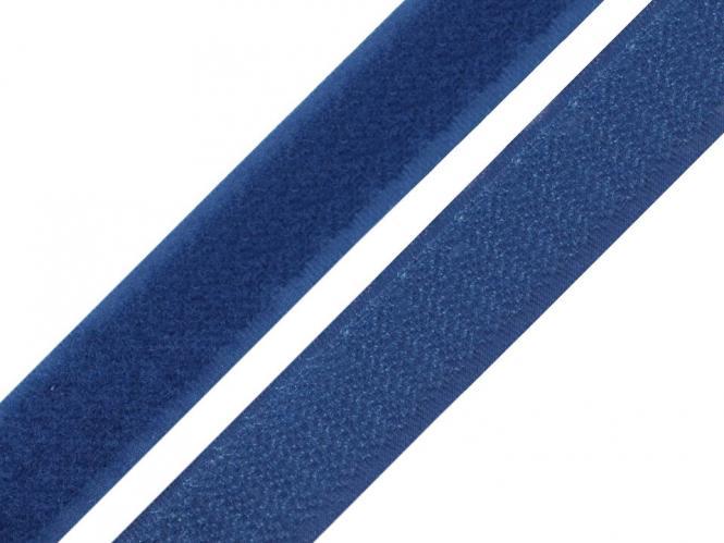 Klettband royalblau