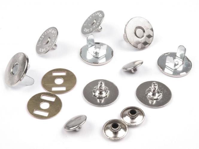 Magnet Verschluss Ø18mm mit Niete