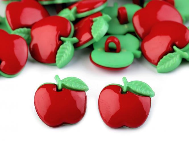 10 Knöpfe Äpfel