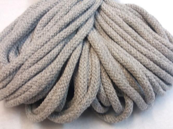 Baumwollkordel grau