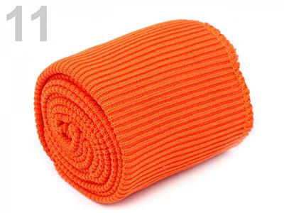 Bündchen umsäumt orange