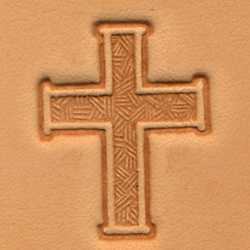 3-D Stempelplatte Kreuz