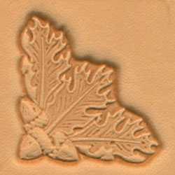 3-D Stempelplatte Eichenblatt