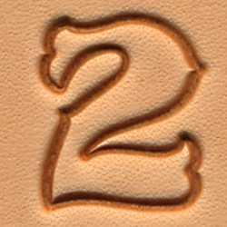 Stempel Set Zahlen XL
