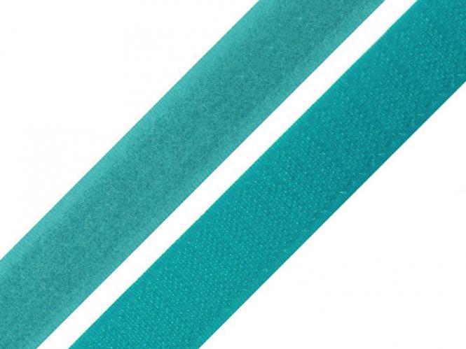Klettband türkis