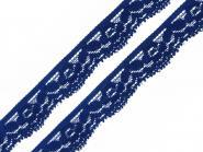 Spitze elastisch Breite 20 mm royal