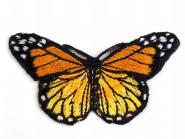 Aufbügler Schmetterling gelb