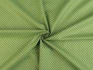 Baumwollstoff Punkte 2-3mm apfelgrün